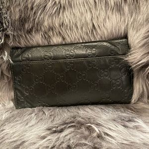 Gucci Bags - Monogram Black Gucci Wallet